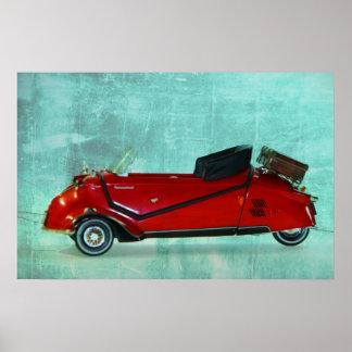 Modelo car pôster