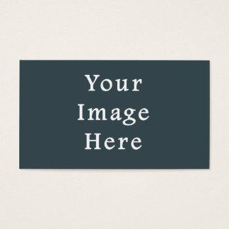 Modelo cinzento da tendência da cor escura das cartão de visitas