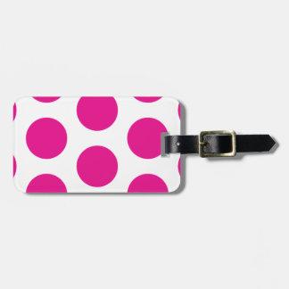 Modelo cor-de-rosa do Tag do saco do viagem das bo Tag Para Mala
