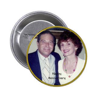 Modelo da foto do aniversário botons