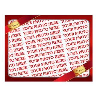 Modelo da foto do Natal Cartão Postal