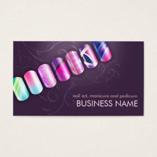 Modelo de cartão de negócios acrílico da arte do cartão de visita