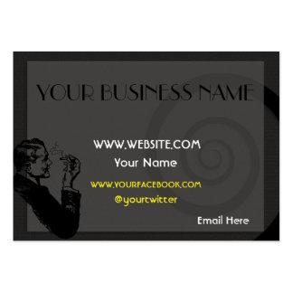 Modelo de cartão de negócios carnudo elegante modelos cartões de visita