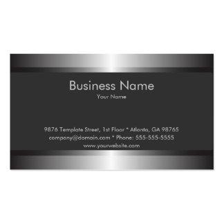 Modelo de cartão de negócios elegante clássico cartão de visita