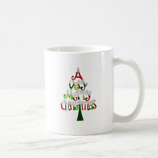 Modelo do Natal Caneca De Café