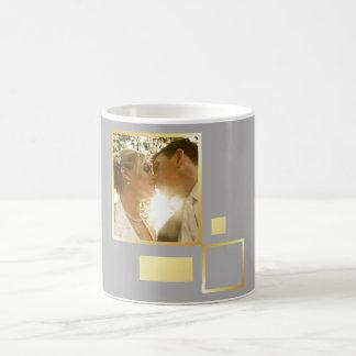 modelo feito sob encomenda da foto do casamento, caneca de café