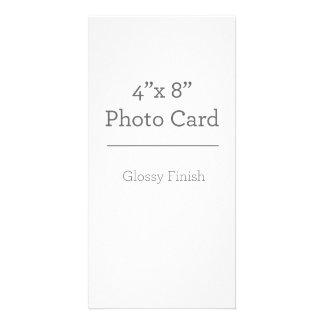 Modelo feito sob encomenda do cartão com fotos cartão com foto