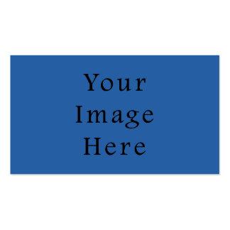Modelo puro do vazio da tendência da cor do azul C Cartão De Visita