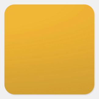 MODELO vazio do ouro: Adicione o texto, imagem, Adesivo Quadrado