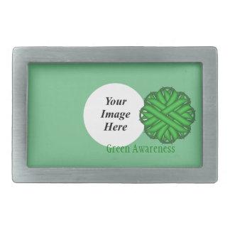 Modelo verde da fita da flor
