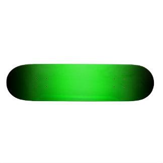 Modelo verde & preto do inclinação do skate