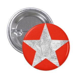 Modelo vermelho da foto da estrela boton