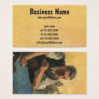 Modelos do arquiteto e da construção do negócio do cartão de visitas