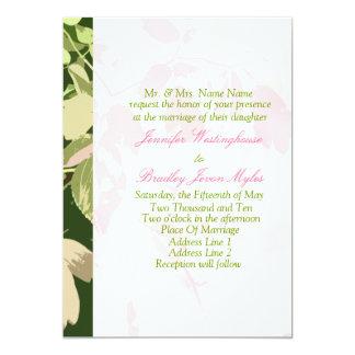 Modelos do convite que Wedding