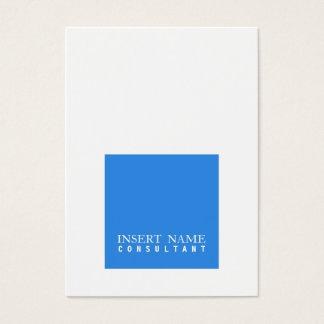 Moderno quadrado elegante profissional do de cartão de visitas