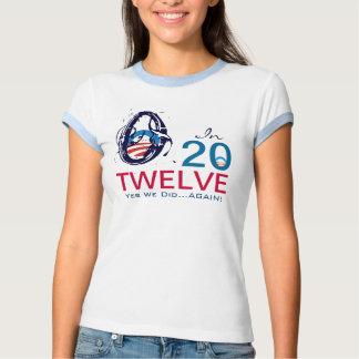 Modificação Obama 2012 sim nós fizemos outra vez o Camiseta