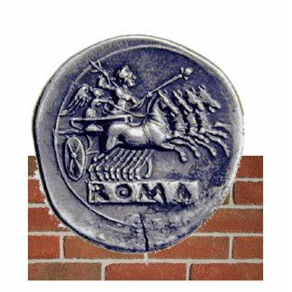 moeda romana fotoesculturas