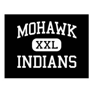 Mohawk - indianos - segundo grau - Marcola Oregon Cartão Postal
