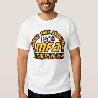Mojo de electrificação t-shirts