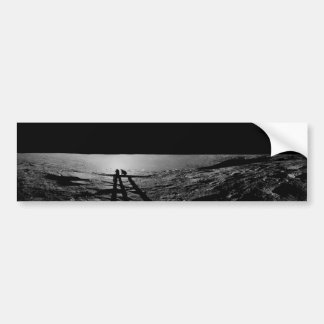 Molde da sombra de astronautas de Apollo 12 na lua Adesivo Para Carro