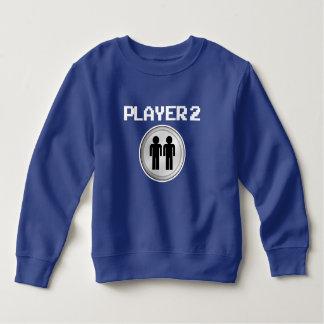 Moletom Camisola engraçada dos meninos do jogador 2