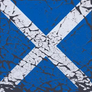 29df188234 Moletom Com Capuz Bandeira quadrada do Scottish do Grunge