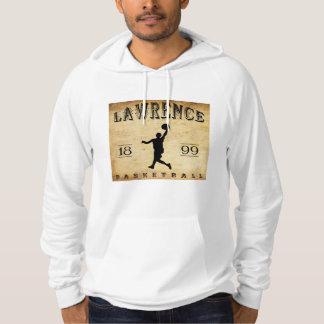 Moletom Com Capuz Basquetebol 1899 de Lawrence Kansas