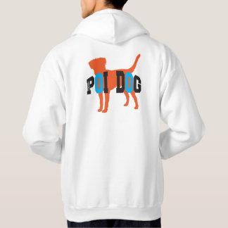 Moletom Com Capuz Hoodie do cão da probabilidade de intercepção de