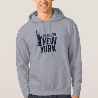 Moletom Com Capuz New York | Apple grande