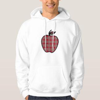 Moletom Com Capuz Presente da camisola de Apple do professor
