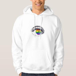 Moletom Com Capuz Sweat Shirt Rainbow Eye