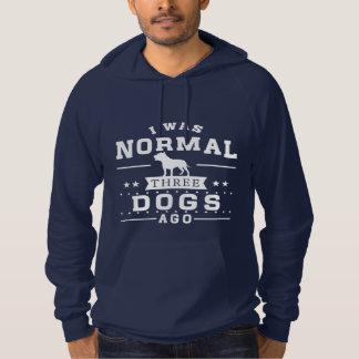 Moletom Eu era três cães normais há