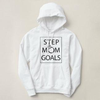 Moletom Hoodie dos objetivos da mamã da etapa