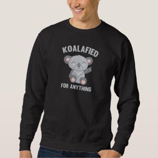 Moletom Koalafied para qualquer coisa