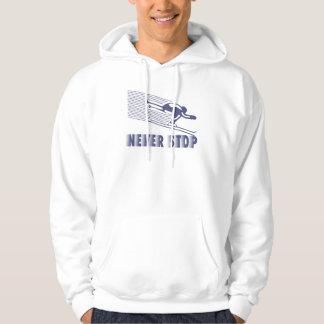 Moletom Nunca pare: Esqui