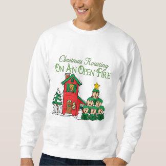 Moletom Série da canção de natal do Natal