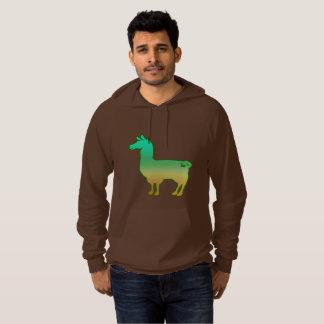 Moleton Com Capuz Hoodie tropical verde do lama