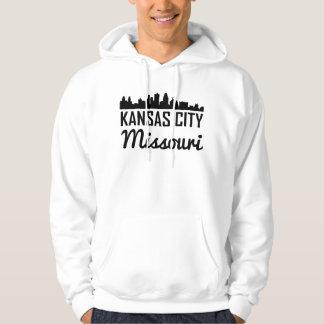 Moleton Com Capuz Skyline de Kansas City Missouri