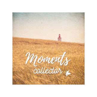 Moments Collector Impressão Em Tela