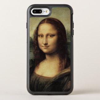 Mona Lisa em detalhe por Leonardo da Vinci Capa Para iPhone 7 Plus OtterBox Symmetry