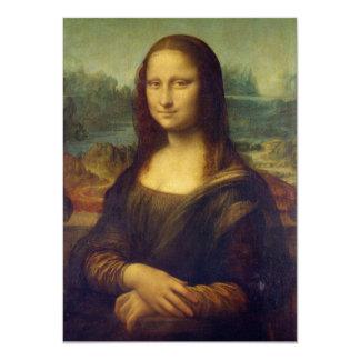 Mona Lisa - Leonardo da Vinci Convites Personalizado