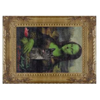 Mona Lisa no conselho de corte da paródia de mágic