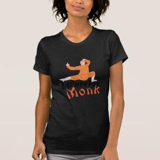 Monge do guerreiro de Kung Fu Tshirts
