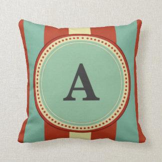 """Monograma de """"A"""" Almofada"""