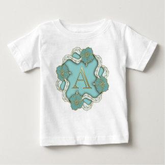 monograma do alfabeto A T-shirts