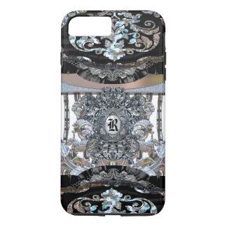 Monograma elegante de Revforth Capa iPhone 7 Plus