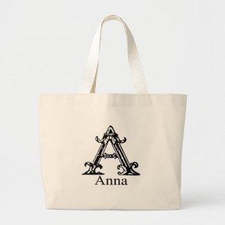 Monograma extravagante: Anna Bolsa