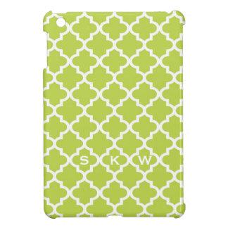 Monograma fresco marroquino do design 3 do azulejo capa iPad mini