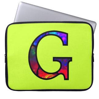 Monograma iluminado Gg Capas Para Computadores