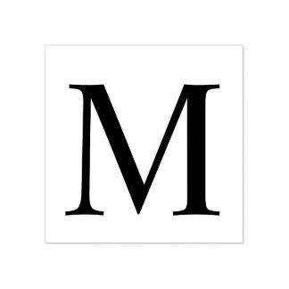 Monograma moderno profissional carimbo de borracha
